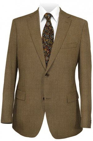 Hickey Freeman Medium Brown Suit 015-312257