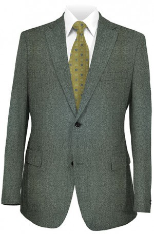 Hickey Freeman Gray Herringbone Sportcoat 015-508001