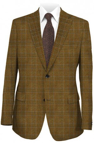 Hickey Freeman Dark Tan Sportcoat #015-512062