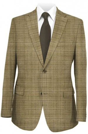 Hickey Freeman Tan Pattern Sportcoat #021-504520