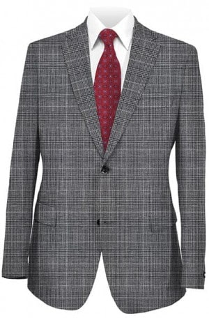 Hickey Freeman Black Pattern Sportcoat #021-512022