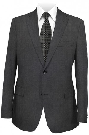 Hickey Freeman Charcoal Suit #091-311040