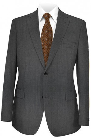 DKNY Charcoal Tailored Fit Suit 11Y0000