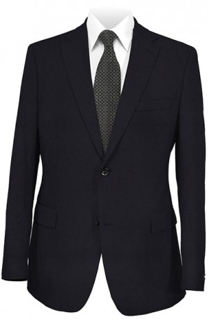 DKNY Navy Solid Color Tailored Fit Suit #11Y0002