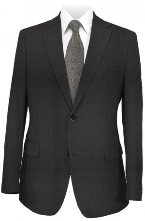 DKNY Solid Charcoal Slim Fit Suit 11Y0070