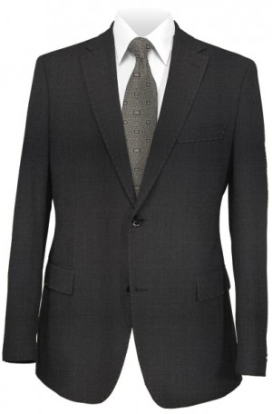 DKNY Solid Charcoal Slim Fit Suit #11Y0070