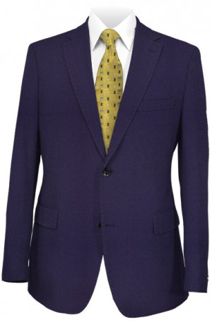 DKNY Blue Solid Color Slim Fit Suit #11Y0074
