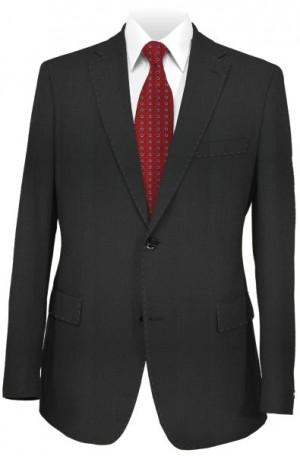 Blujacket Black Herringbone Tailored Fit Suit 121024