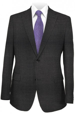 Varvatos Charcoal Tailored Fit Suit #1234O