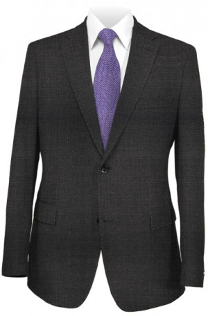 Varvatos Charcoal Tailored Fit Suit 1234O
