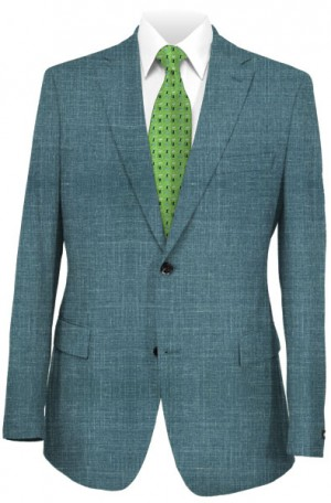 Ralph Lauren Soft Teal Tailored Fit Sportcoat #12FA0084