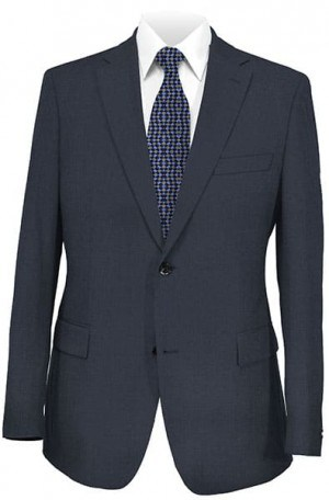 DKNY Gray Tailored Fit Fit Suit 12Y0170
