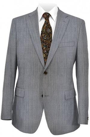 DKNY Gray Sharkskin Slim Fit Suit 12Y0625
