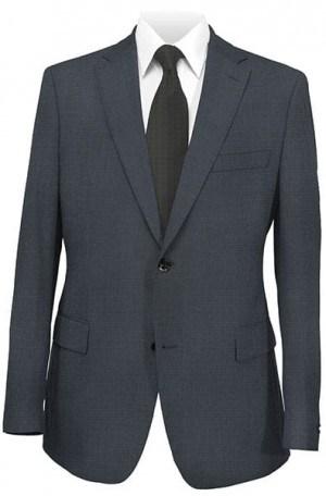 DKNY Navy Check Slim Fit Suit 12Y0731