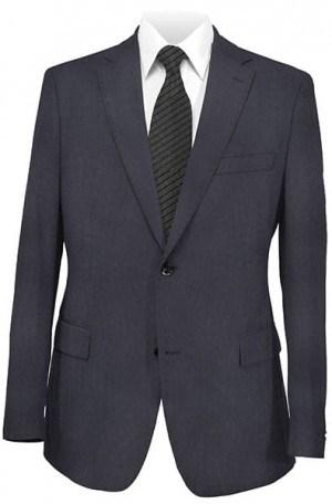 DKNY Navy Tone-on-Tone Slim Fit Suit 12Y0736
