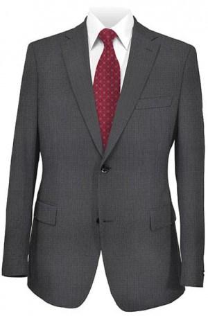 Hart Schaffner Marx Black Pattern Suit #131-339704