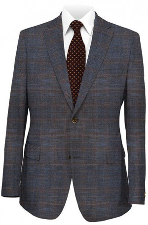 Jack Victor Navy-Brown Sportcoat #131311