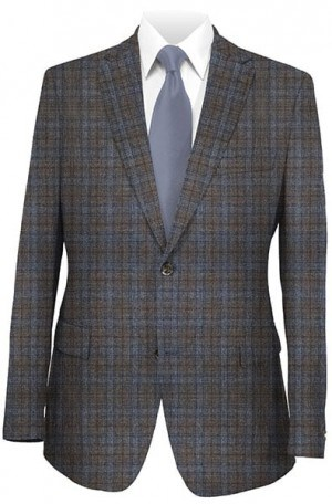 Jack Victor Brown & Gray Check Sportcoat #132006