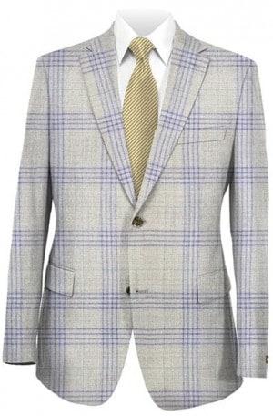 Jack Victor Tan & Gray Summer Sportcoat #141109