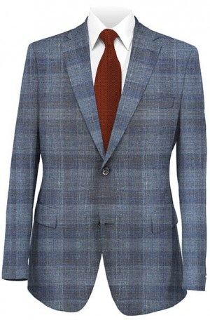 Jack Victor Blue Pattern Sportcoat #141508