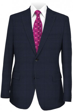 Canaletto Navy Pattern Suit 141542-3