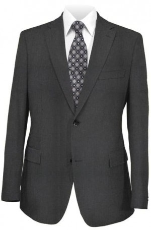 Daniel Hechter Black Casual Tailored Fit Sportcoat #142001R