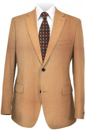 Blujacket Camel Hair Tailored Fit Sportcoat #142020BLU