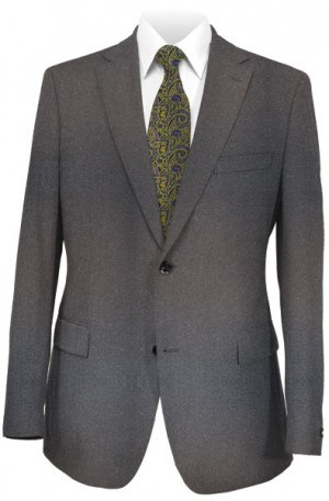 Blujacket Gray Cashmere Tailored Fit Sportcoat #142024