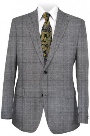 Hart Schaffner Marx Gray Windowpane Suit 148-339102-193