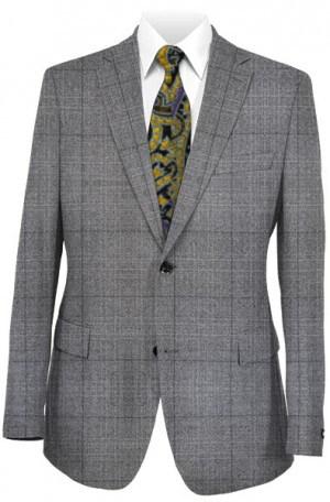 Hart Schaffner Marx Gray Windowpane Suit #148-339102-193