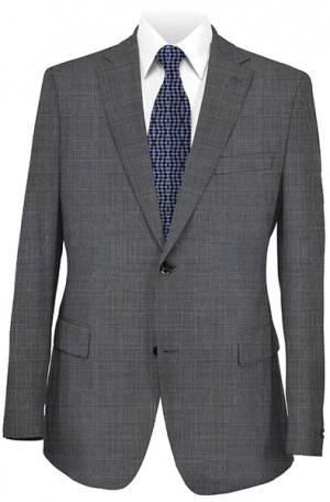 Hart Schaffner Marx Gray Plaid Suit #148-630801