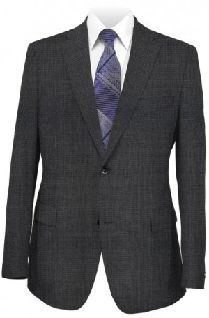 Betenly Gray Check Tailored Fit Suit #152003