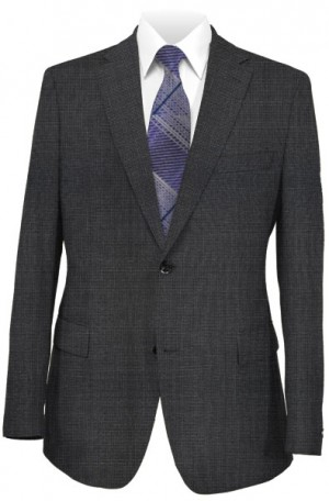 Betenly Gray Check Tailored Fit Suit 152003