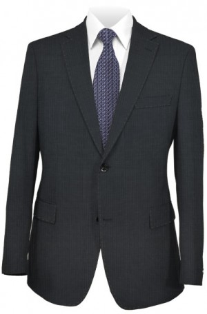 Canaletto Dark Gray Fineline Classic Fit Suit #187-111-2