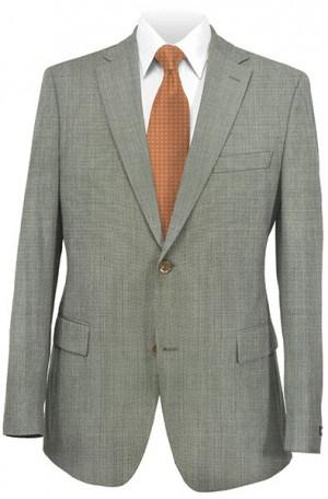 Ralph Laren Tan Tick Weave Gentleman's Cut Suit #1RZ1348