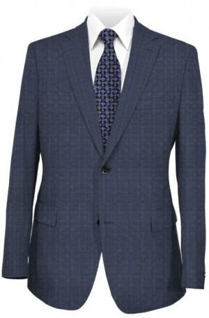 Betenly Blue Subtle Pattern Tailored Fit Suit #1T72006