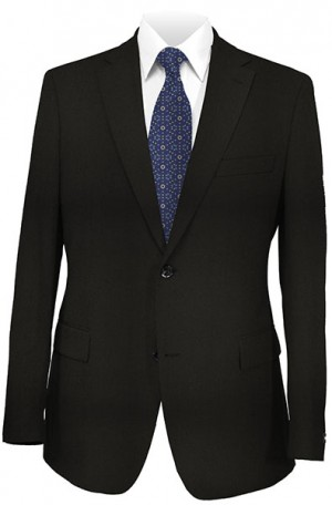 Ralph Lauren Black Gentleman's Fit Suit with Pleated Slacks #1UX0072