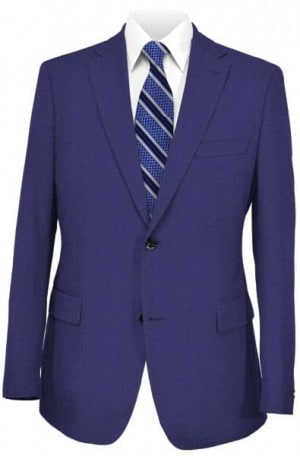 Pal Zileri Blue Solid Color Suit #21018-08