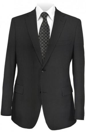 Pal Zileri Black Solid Color Suit 21018-20