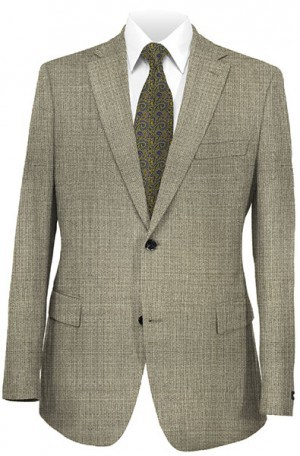 Mattarazzi Black & Cream Micro-Check Suit #2130091