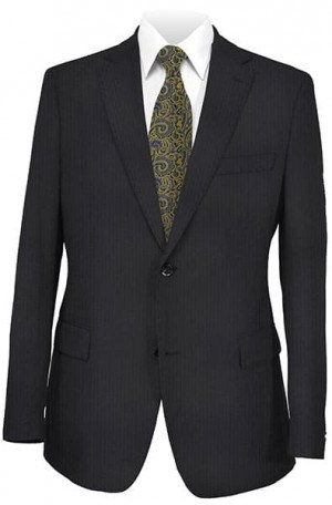 Mattarazi Navy Stripe Suit #21381-15