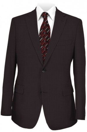 Pal Zileri Deep Burgundy Suit 21504-71