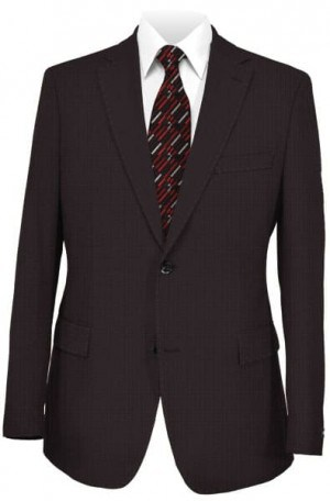 Pal Zileri Deep Burgundy Suit #21504-71