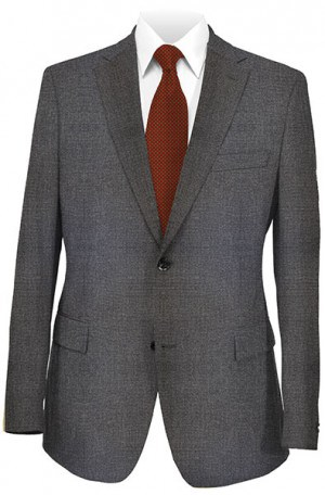 Mattarazi Brown Tick Weave Wool-Cashmere Tailored Fit Sportcoat #2174080
