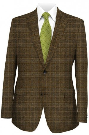 Betenly Brown Pattern Sportcoat 22018