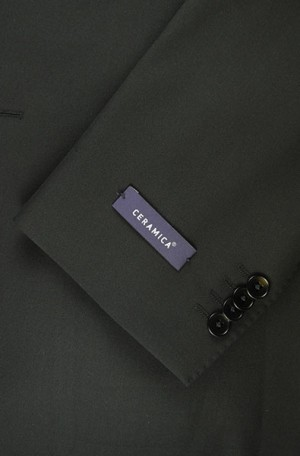 Betenly Black Ceramica Tailored Fit Suit 22038