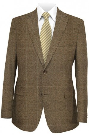 Betenly Brown & Camel Sportcoat #222015