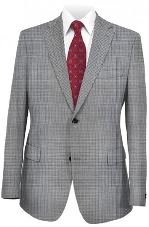 Rubin Gray Pattern Gentleman's Fit Sportcoat 22614
