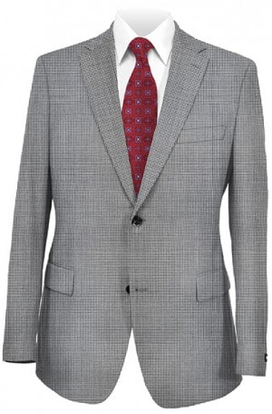 Rubin Gray Pattern Gentlema's Fit Sportcoat #22614