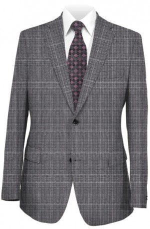 Varvatos Light-Medium Gray Tailored Fit Suit 2345C